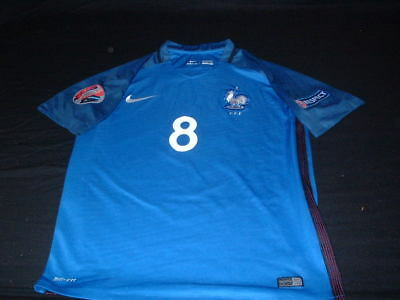 France French Football Medium Mans Payet no8 euro 2016 finals Home Jersey