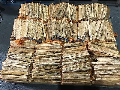 12Kg Quality Dried Wood Kindling Fire Starting Logs Open Fires Stoves BBQ Ovens