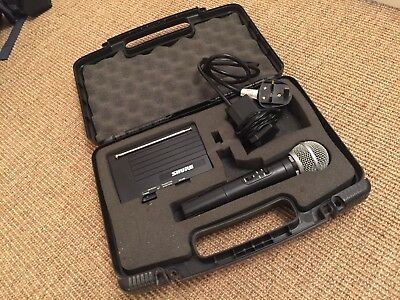 Shure Pg58 Wireless Microphone System Complete