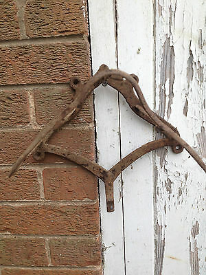 Antique small saddle rack