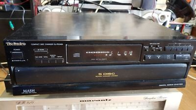 Vintage Technics PD346A 5 disc CD Changer player made in japan