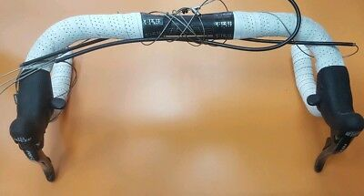 campagnolo record ergo levers 10 speed in excellent condition Campag brake gear