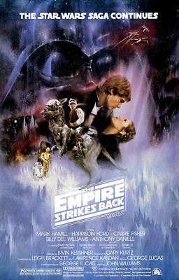 "Star Wars - Empire Strikes Back (11"" x 17"") Collector's Poster Print - B2G1F"