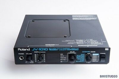 Roland JV-1010 Synthesiser, SR-JV-80 sounds, Vintage Rack Module, Made in Japan