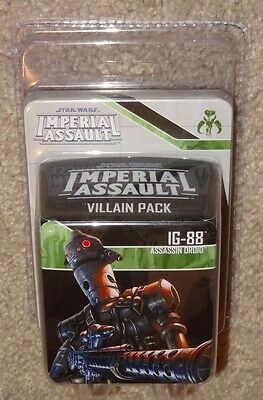 IG-88 - Star Wars Imperial Assault Villain Expansion Pack - NIB - Assassin Droid