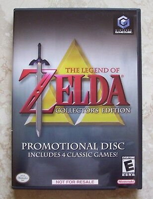 LEGEND OF ZELDA COLLECTOR'S EDITION, Nintendo Gamecube Game, Case, &  Booklet