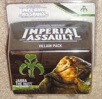 JABBA THE HUTT - Star Wars Imperial Assault Villain Expansion Pack - NIB