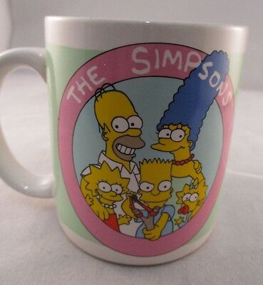 Simpsons Collectors Mug 1991 Harry James Design - Under Achiever and Proud of It