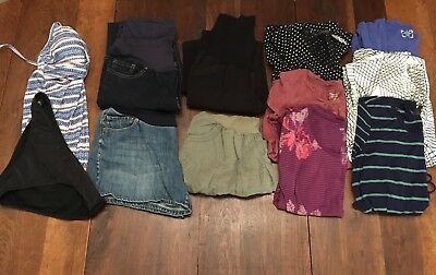 Maternity Clothes Lot Medium Small Pants, Shorts, Tops, Career, Casual