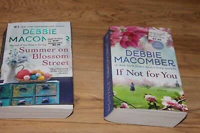 Lot of 2 Debbie Macomber Books: If not for you, Summer on Blossom Street