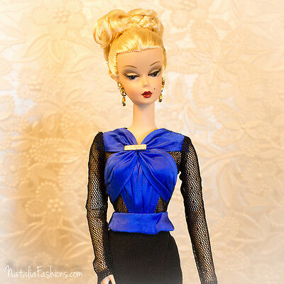 Last One New Blouse Only For Barbie Silkstone Nu Face Fashion Royalty Doll