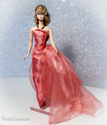 New Evening Dress Only For Barbie Silkstone Fashion Royalty Nu Face Doll Outfit