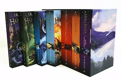 Harry Potter The Complete Collection by J.K Rowling *7 Book Gift Set* - NEW