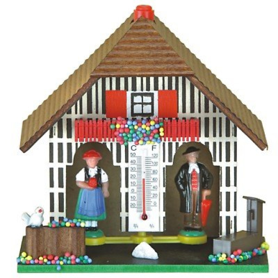 German Black Forest weather house TU 805