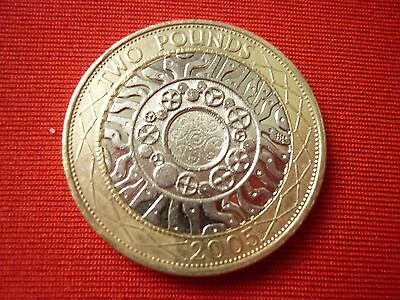 £2 2005 Technology Standing On The Shoulders Of Giants 2 Pound Coin - FREE POST