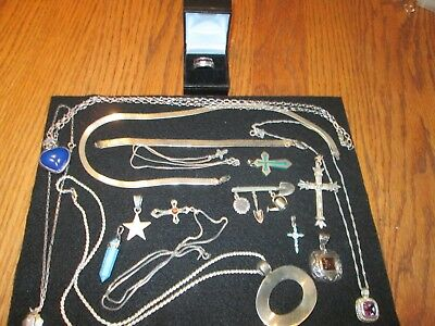 Sterling Silver Jewelry Lot - Nice Assortment! Most of it never worn!