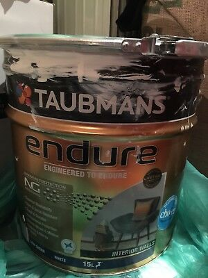 2 Tins Of Taubmans Internal Wall And Ceiling Paints