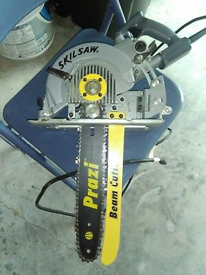 Prazi USA PR7000 Beam Cutter and 7-1/4-Inch Worm Drive Saw, Saw included