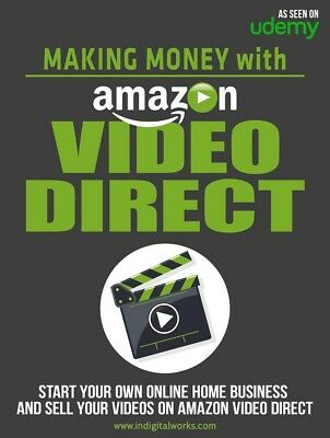 2017 new Making Money With Amazon Video Direct passive income with resell rights