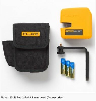 Laser LevelFluke 180LR SYSTEM Red 2-Point Horizontal and Vertical Laser Level