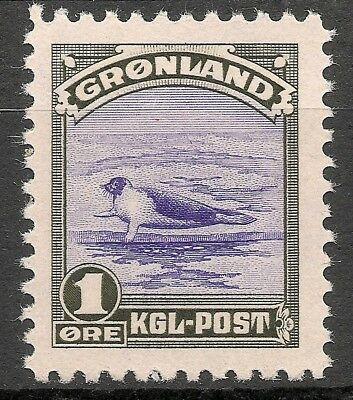 GREENLAND -1945 American issue 1 ore - MNH VF -Facit 10