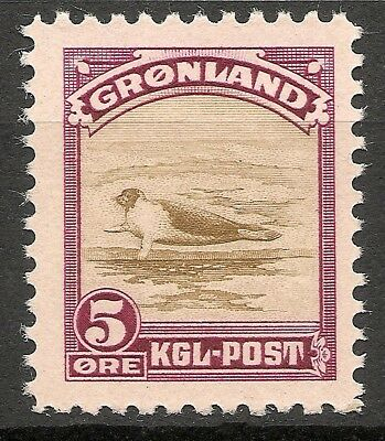 GREENLAND -1945 American issue 5 ore - MNH VF -Facit 11