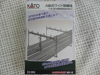 Kato 23-064 N Scale 1/150 Quad 4 Track Overhead Catenary Wires