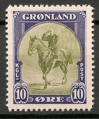 GREENLAND -1945 American issue 10 ore - MNH VF -Facit 13