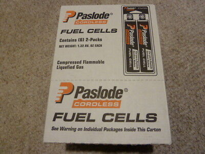 Master Carton; Paslode Tall Red Fuel Cell  816000 12 Fuel/Carton