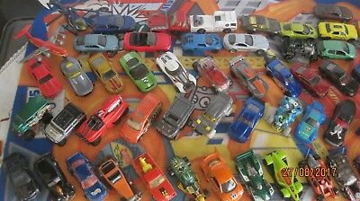 Bargain!!  Bulk Hotwheels And Matchbox Cars And Planes X 62 Pieces