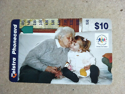 Mint $10 National Family Day Phonecard Prefix 1542