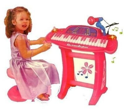 Childrens Recording Electronic 36 Key Keyboard Piano With Stand Microphone and