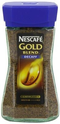 Nescafe Gold Blend Decaffeinated Coffee 100 g (Pack of 2). Huge Saving