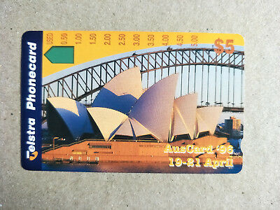 Unused $5 AusCard Phonecard Prefix 1146 2000 issued