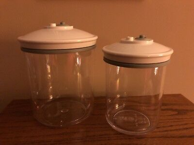 Food Saver Vacuum Containers 2-Containers