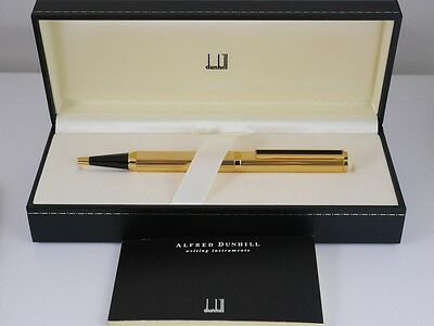 dunhill Dress Gold Plated Ballpoint Pen MINT