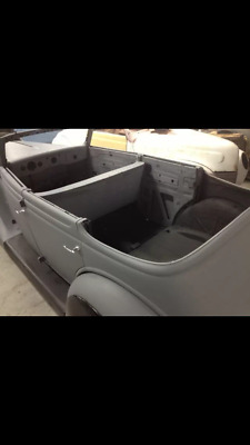 1935 or 1936 Ford Convertible Sedan Project Hot Rod No front sheet metal
