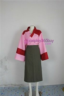 Inuyasha Sango Kimono cosplay costume include arm cover