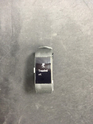 Fitbit Charge 2 Heart Rate + Fitness Wristband, Small Black A4165