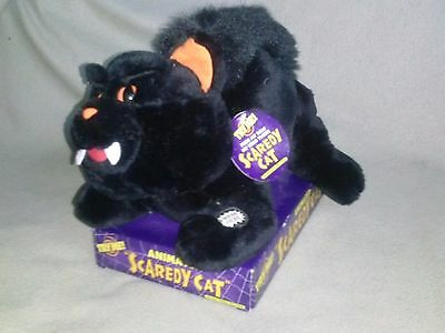 Dan Dee Animated SCAREDY CAT Halloween Plush with box and tags