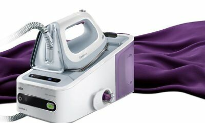 Braun CareStyle 5 IS5043WH iron featuring boiler charger continuous 310g/min