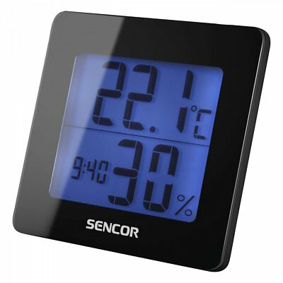 Sencor SWS 15 B Weather Station – Weather Station AA, 1.5 V, black, 9.3 cm, 3.8