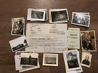 Lot of VTG WW2 WWII Photos c. 1940's - Planes, Aircraft, and Soldiers  (L28-G1)
