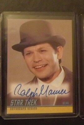 Star Trek TOS  Autograph Card Auto A187  2008 Ralph Maurer as Bilar