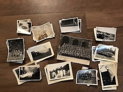 Lot of VTG WW2 WWII Photos c. 1940's - Soldiers & Life During War (L28-G8)