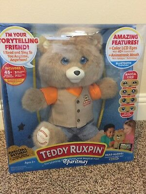 HOT TOY 2017 : Teddy Ruxpin - The Storytelling and Magical Bear (IN HANDS)