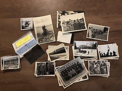 Lot of VTG WW2 WWII Photos c. 1940's - Soldiers & Life During War (L29-G10)