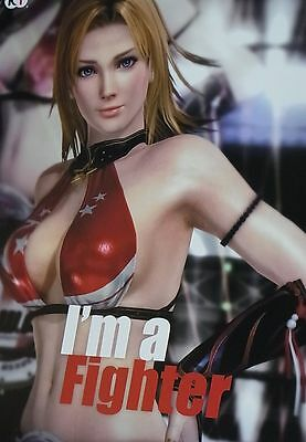 Dead Or Alive 5 Privilege Item I'm a Fighter Poster B2 Big Size Tina