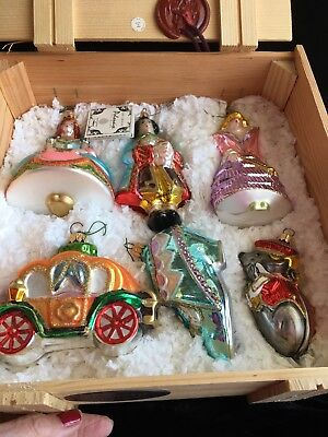 Polonaise Cinderella Limited Edition 3165/7500 Christmas Ornaments 6 In Crate