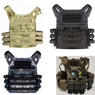 Tactical Lightweight MOLLE Tactical Armor Plate Carrier JPC Vest w/ Mag Pouches